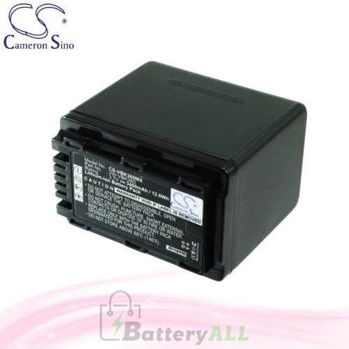 CS Battery for Panasonic SDR-H85 / SDR-H85A / SDR-H85K Battery 3400mah CA-VBK360MX