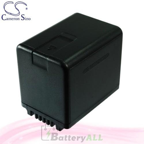 CS Battery for Panasonic SDR-S50K / SDR-S50N / SDR-T50 Battery 3400mah CA-VBK360MX