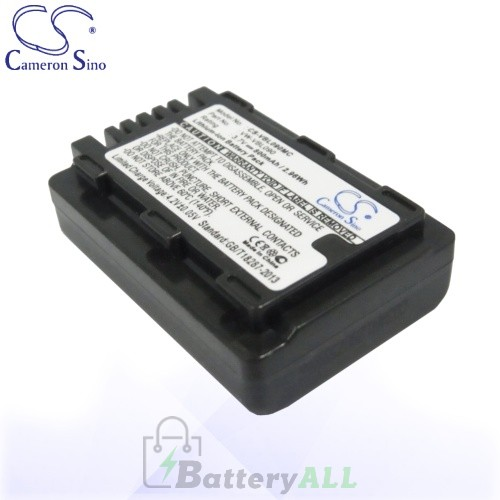 CS Battery for Panasonic VW-VBL090 / Panasonic HDC-HS60K Battery 800mah CA-VBL090MC