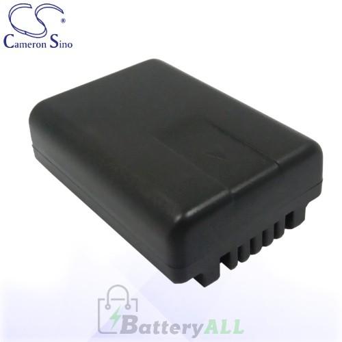 CS Battery for Panasonic HDC-TM55K / HDC-TM60 / SDR-H85 Battery 800mah CA-VBL090MC