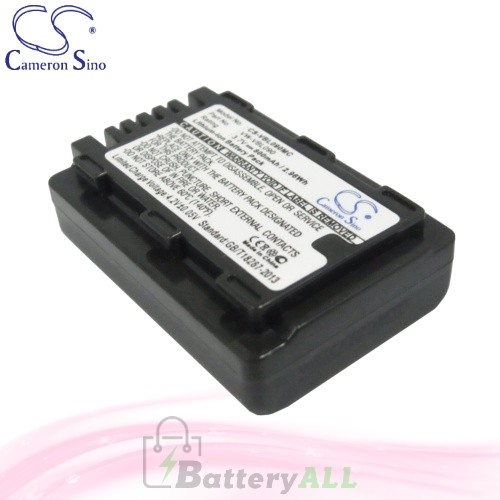 CS Battery for Panasonic SDR-S50 / SDR-S50A / SDR-S50K Battery 800mah CA-VBL090MC