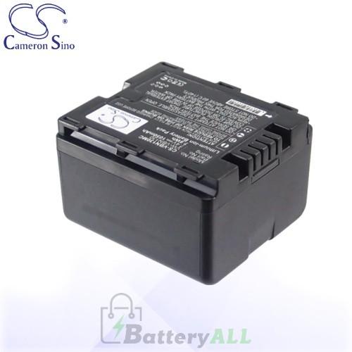 CS Battery for Panasonic VW-VBN130E / VW-VBN130E-K Battery 1050mah CA-VBN130MC