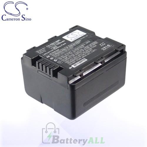 CS Battery for Panasonic VW-VBN130 / Panasonic HC-X800 Battery 1050mah CA-VBN130MC