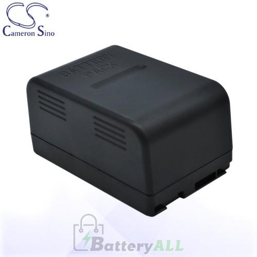 CS Battery for Panasonic VW-VBS10E / VW-VBS20 / NV-CSLEN Battery 2400mah CA-VBS20E