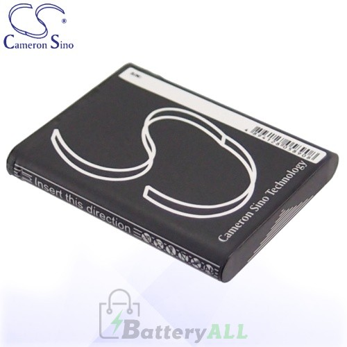 CS Battery for Panasonic HX-WA10 / HX-DC1EB-H / HX-DC1GK Battery 740mah CA-VBX070MC