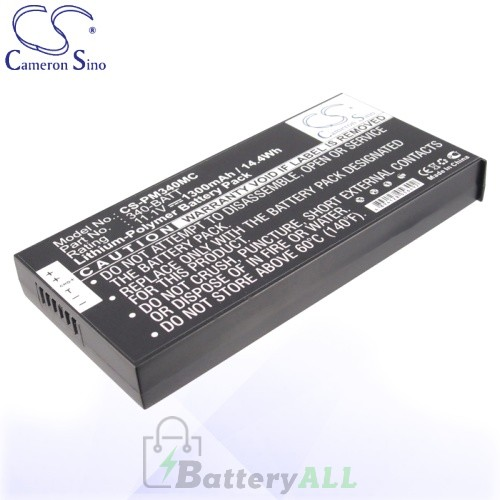 CS Battery for Polaroid 340-BATT / Polaroid Z340 Battery 1300mah CA-PM340MC