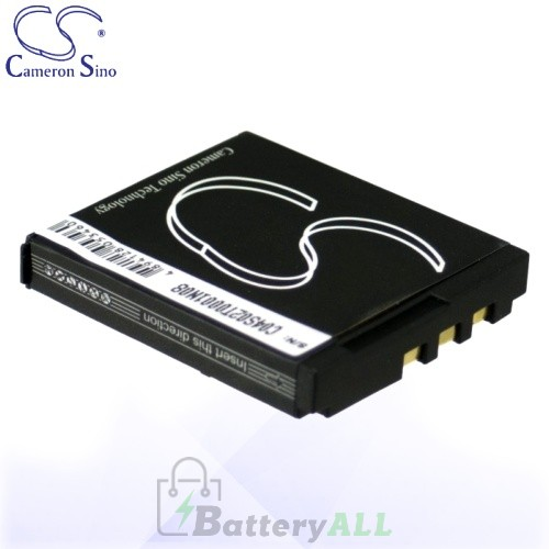 CS Battery for Polaroid 009322-328007 / GB3396NA002 Battery 750mah CA-PM635MC
