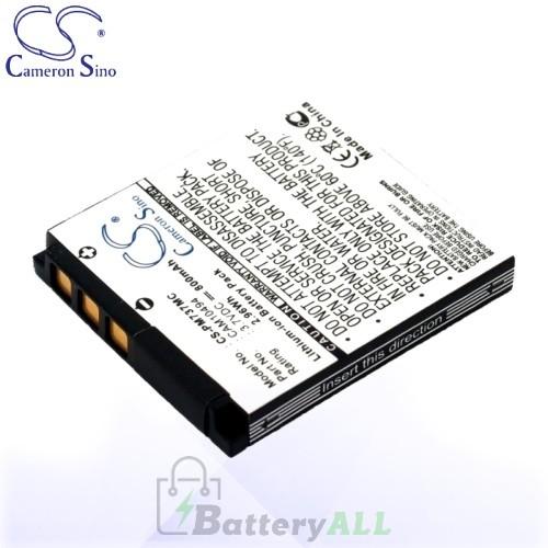 CS Battery for Polaroid CAM10494 / M737 / M737T / T737 Battery 800mah CA-PM737MC