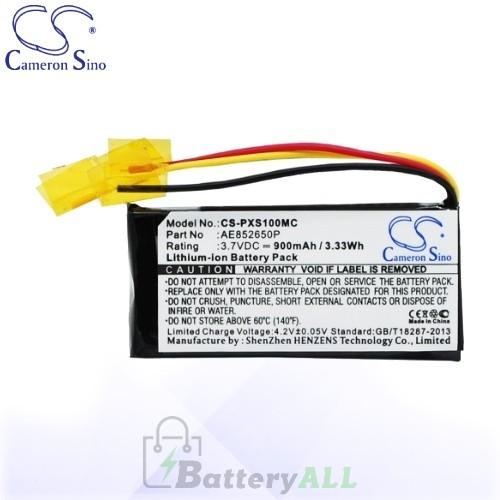 CS Battery for Polaroid AE852650P / Polaroid POLXS100 Battery 900mah CA-PXS100MC