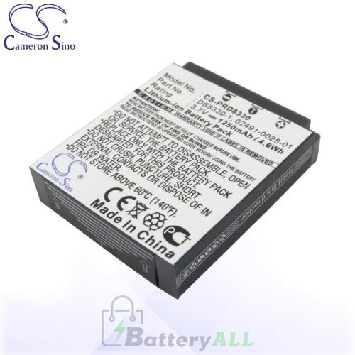 CS Battery for Premier DS8330 Battery 1250mah CA-PRD8330