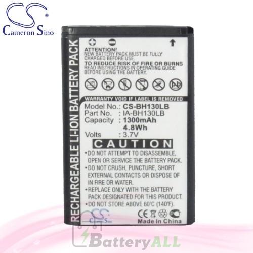 CS Battery for Samsung SMX-C24 / SMX-C24BP / SMX-C200 Battery 1300mah CA-BH130LB