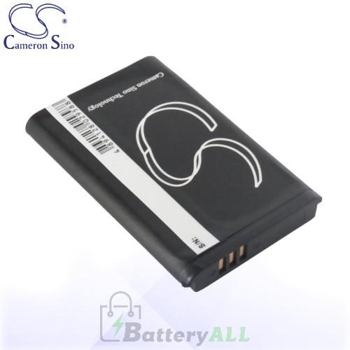 CS Battery for Samsung HMX-U20 / HMX-W200 / HMX-W350 Battery 1300mah CA-BH130LB