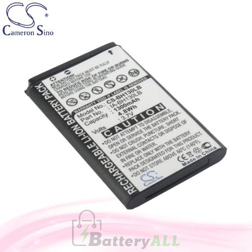 CS Battery for Samsung HMX-W300 / K40 / K45 / SMX-C10RP Battery 1300mah CA-BH130LB