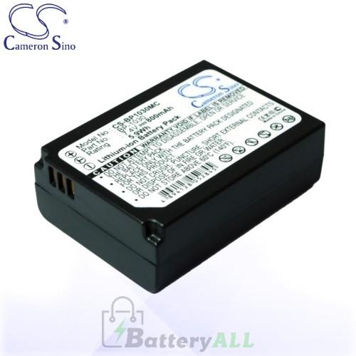 CS Battery for Samsung BP-1030 / ED-BP1030 / NX200 / NX210 Battery 800mah CA-BP1030MC