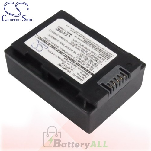 CS Battery for Samsung SMX-F43 / SMX-F43BN / S16 / SMX-F44SN Battery 1800mah CA-BP120E
