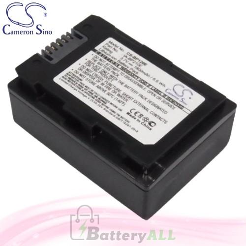 CS Battery for Samsung HMX-S10 / HMX-S10BN / HMX-S10BP Battery 1800mah CA-BP120E