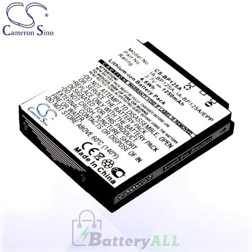 CS Battery for Samsung AD43-00197A / BP125A / IA-BP125A/EPP Battery 1250mah CA-BP125A