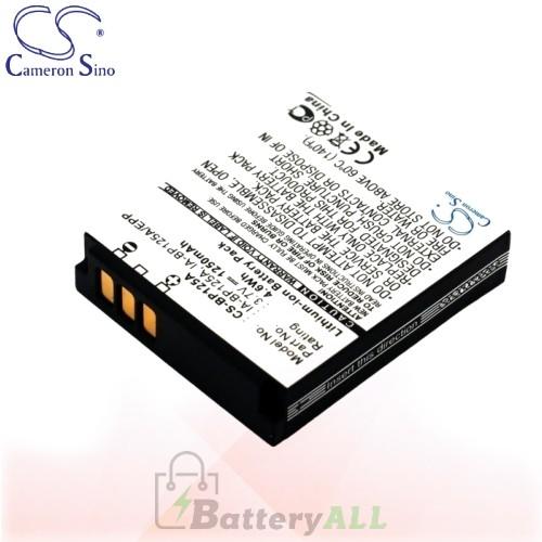 CS Battery for Samsung HMX-Q100TP / HMX-Q100UN / HMX-Q100UP Battery 1250mah CA-BP125A