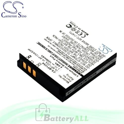 CS Battery for Samsung HMX-Q200BP / HMX-Q200RN / HMX-Q200RP Battery 1250mah CA-BP125A