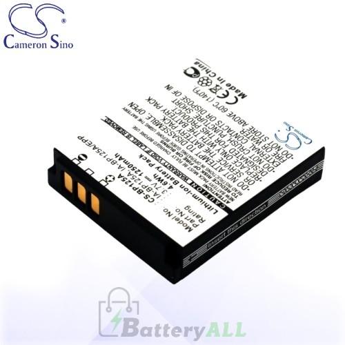 CS Battery for Samsung IA-BP125A / IA-BP125 / IA-BP125EPP Battery 1250mah CA-BP125A