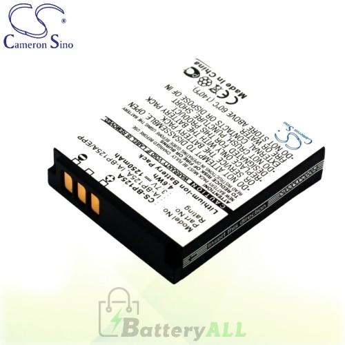 CS Battery for Samsung HMX-T10WP / HMX-T11BP / HMX-T11WP Battery 1250mah CA-BP125A