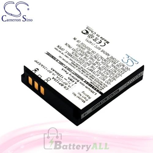 CS Battery for Samsung HMX-Q10TP / HMX-Q10UN / HMX-Q10UP Battery 1250mah CA-BP125A