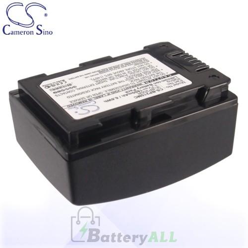 CS Battery for Samsung HMX-H300 / HMX-H300BN / HMX-H300BP Battery 1800mah CA-BP210MC
