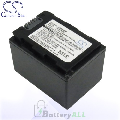 CS Battery for Samsung HMX-H200BP / HMX-H203 / HMX-H203BN Battery 3600mah CA-BP420E