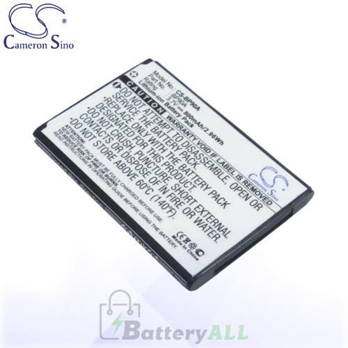 CS Battery for Samsung HMX-E10 / HMX-E10BP / HMX-E10WP Battery 800mah CA-BP90A