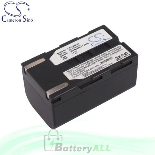 CS Battery for Samsung VP-D463B / VP-D463i / VP-D467i Battery 1600mah CA-LSM160