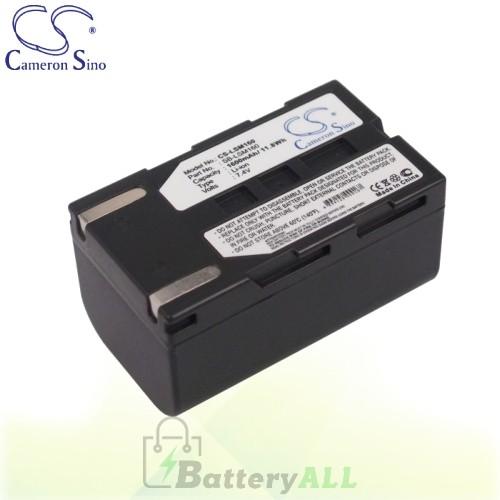 CS Battery for Samsung VP-DC161i / VP-DC161W / VP-DC161WB Battery 1600mah CA-LSM160