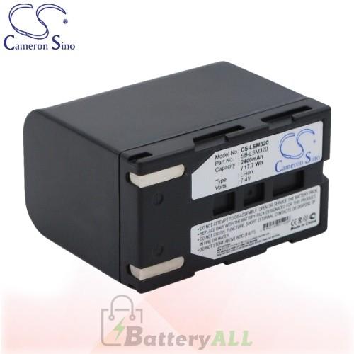 CS Battery for Samsung VP-D363 / VP-D363i / VP-D364Wi Battery 2400mah CA-LSM320