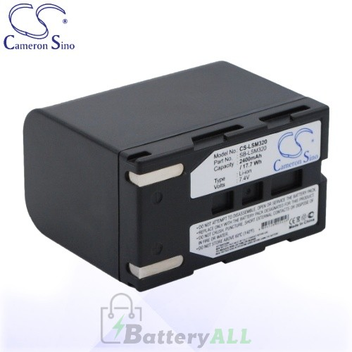CS Battery for Samsung SC-D353 / SC-D362 / SC-D363 / SC-D364 Battery 2400mah CA-LSM320