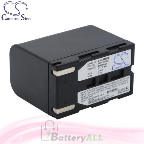 CS Battery for Samsung VM-DC160 / VM-DC560 / VM-DC560K Battery 2400mah CA-LSM320