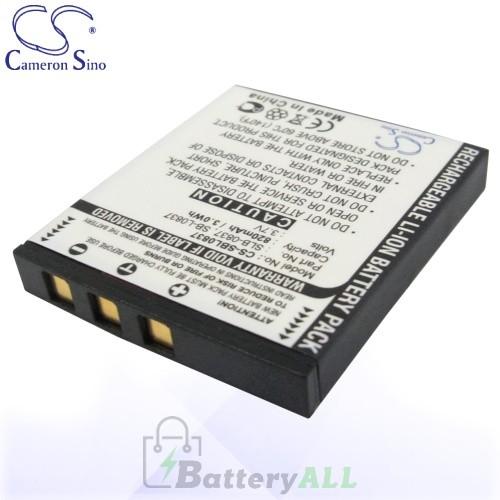 CS Battery for Samsung Digimax i5 / i50 / i6 PMP / NV20 Battery 820mah CA-SBL0837