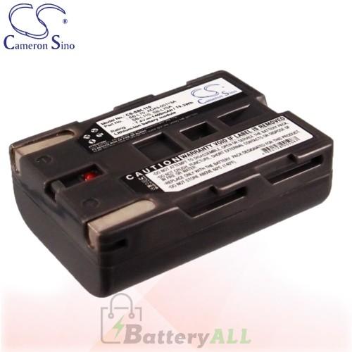 CS Battery for Samsung SC-D60 / SCD590 / SC-D590 / VP-D7L Battery 1400mah CA-SBL110