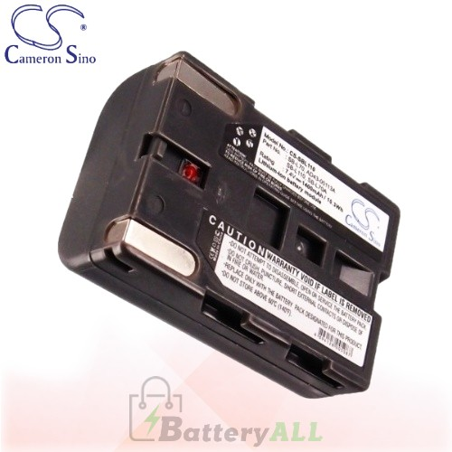 CS Battery for Samsung VP-D30 / VP-D31 / VP-D33 / VP-D34 Battery 1400mah CA-SBL110