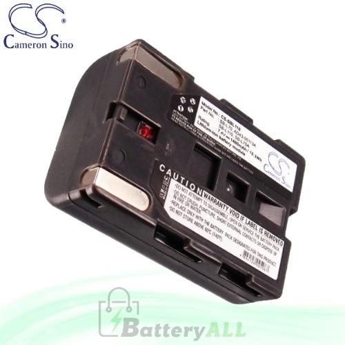 CS Battery for Samsung VP-D85 / VP-D87 / VP-D87i / VP-D93 Battery 1400mah CA-SBL110