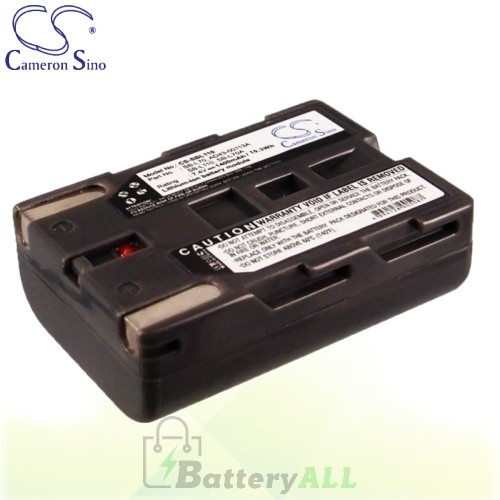 CS Battery for Samsung VP-D101 / VP-D103 / VP-D105 / VP-D190 Battery 1400mah CA-SBL110