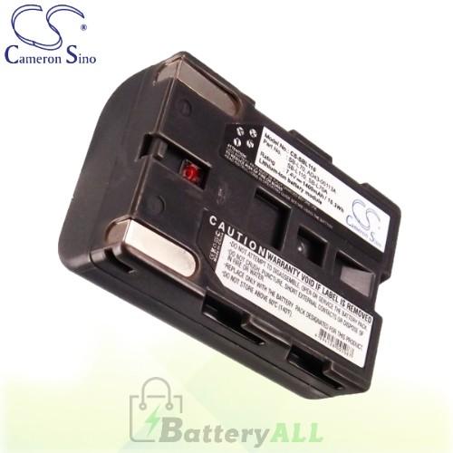 CS Battery for Samsung VP-D323 / VP-D323i / VP-D325 Battery 1400mah CA-SBL110