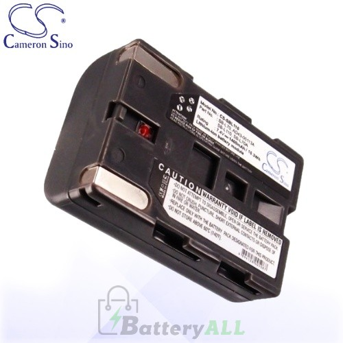 CS Battery for Samsung SCD23 / SC-D23 / SCD24 / SC-D24 Battery 1400mah CA-SBL110