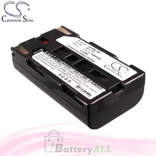CS Battery for Samsung VP-M50 / VP-M51 / VP-M52 / VP-M53 Battery 1850mah CA-SBL160