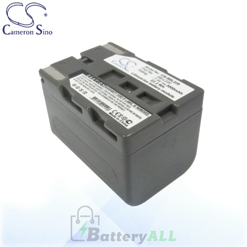 CS Battery for Samsung VP-D530 / VP-D590 / SCD325 / SCD530 Battery 3000mah CA-SBL220