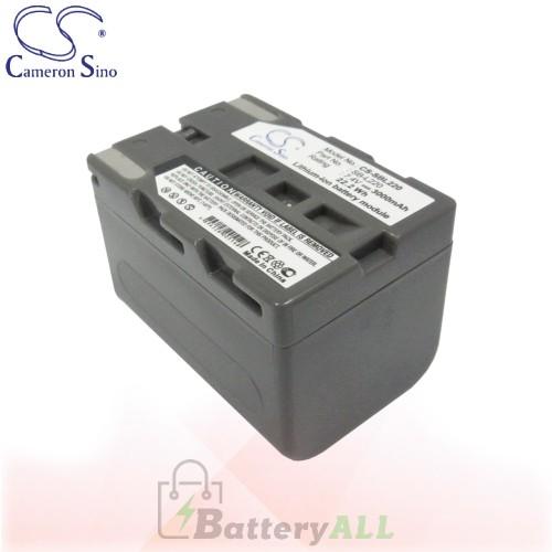 CS Battery for Samsung VP-D20 / VP-D21 / VP-D23 / VP-D230 Battery 3000mah CA-SBL220