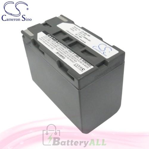 CS Battery for Samsung VP-L906 / VP-L907 / VP-M54 / VP-SCD55 Battery 5500mah CA-SBL480