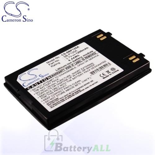 CS Battery for Samsung SB-P120A / SB-P120ASL / SB-P120ABC Battery 1200mah CA-SBP120A