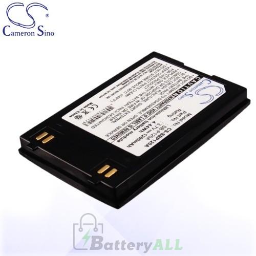 CS Battery for Samsung SB-P120ABK / Samsung SC-MM10BL Battery 1200mah CA-SBP120A
