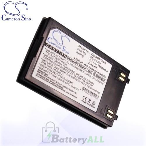 CS Battery for Samsung SC-MM10S / SC-X205L / SC-X205WL Battery 1200mah CA-SBP120A