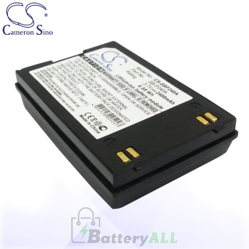 CS Battery for Samsung SB-P240A / SB-P240ABK / SB-P240ABC Battery 2400mah CA-SBP240A