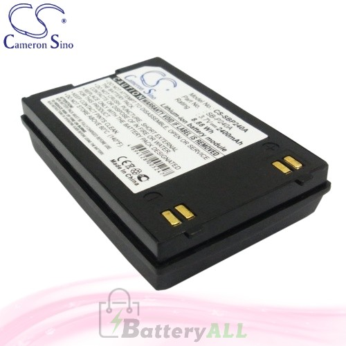 CS Battery for Samsung SC-X210L / SC-X210WL / SC-X220L Battery 2400mah CA-SBP240A